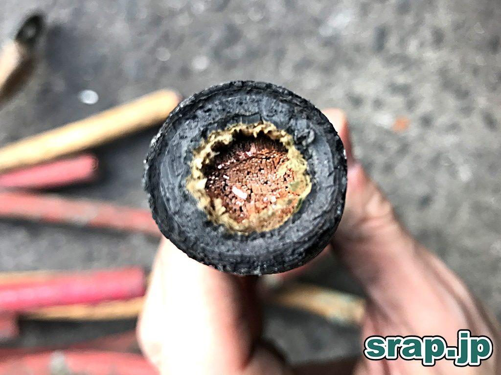 1芯だが1本1本の銅が細い